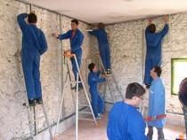 ремонт стен помещений Белгород