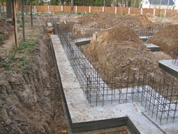 Строительство фундамента под ключ. Белгородские строители.